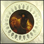 Aristotle Contemplating The Bust Of Homer Collector Plate by Rembrandt