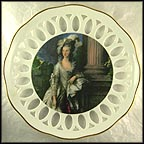 The Honorable Mrs. Graham Collector Plate by Thomas Gainsborough
