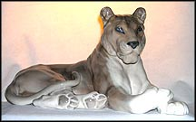 Lioness, Royal Copenhagen Figurine #804 MAIN
