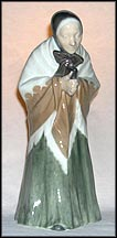 Churchgoer, Royal Copenhagen Figurine #892