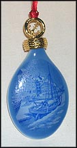 2007 Christmas In Nyhavn, Royal Copenhagen Annual Ornament MAIN
