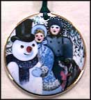 1991 Snowman, Royal Copenhagen Christmas In Denmark Ornament
