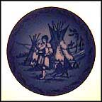 Indian Love Call Collector Plate by Sven Vestergaard MAIN
