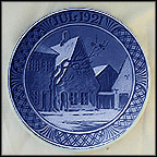 Aabenraa Marketplace Collector Plate by Oluf Jensen