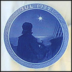 Ship's Boy At The Tiller On Christmas Night Collector Plate by Benjamin Olsen