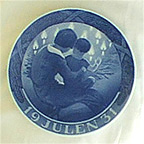 Mother And Child Collector Plate by Gotfred Rode