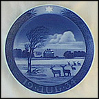 The Hermitage Castle Collector Plate by Oluf Jensen
