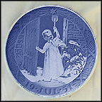 Christmas Angel Collector Plate by Richard Bocher MAIN