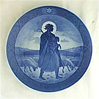 The Good Shepherd Collector Plate by Hans Henrik Hansen