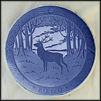 The Stag Collector Plate by Hans Henrik Hansen