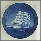 Training Ship Danmark Collector Plate by Kai Lange