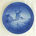 Hojsager Mill Collector Plate by Kai Lange