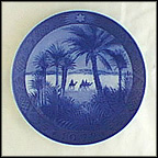 In The Desert Collector Plate by Kai Lange
