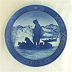 Greenland Scenery Collector Plate by Kai Lange