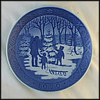 Choosing The Christmas Tree Collector Plate by Oluf Jensen