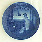 Waiting For Christmas Collector Plate by Kai Lange