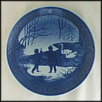 Winter Birds Collector Plate by Sven Vestergaard