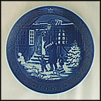 Christmas Shopping Collector Plate by Sven Vestergaard
