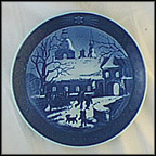 Christmas At Manor House Collector Plate by Oluf Jensen