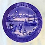 Coming Home For Christmas Collector Plate by Sven Vestergaard