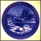The Sleigh Ride Collector Plate by Sven Vestergaard