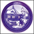 Hans Christian Andersen House Collector Plate by Sven Vestergaard