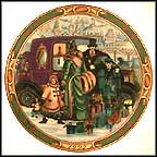 Christmas Shopping Collector Plate by Hans Henrik Hansen