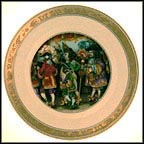 The Emperor's New Clothes Collector Plate by Pauline Ellison
