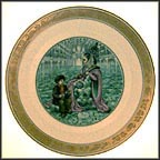 The Snow Queen Collector Plate by Pauline Ellison