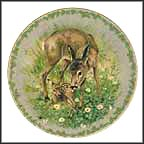 The Fawn Collector Plate by Jørgen Nielsen
