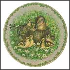 The Mallards Collector Plate by Jørgen Nielsen