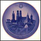 Munich Olympiad Collector Plate