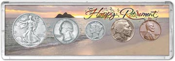 1936 Retirement Coin Gift Set THUMBNAIL