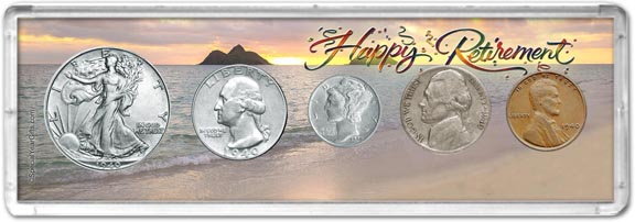 1940 Retirement Coin Gift Set LARGE