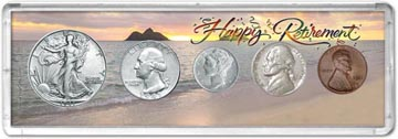 1941 Retirement Coin Gift Set THUMBNAIL