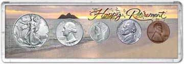 1942 Retirement Coin Gift Set THUMBNAIL