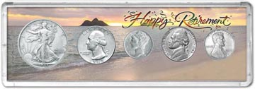 1943 Retirement Coin Gift Set THUMBNAIL