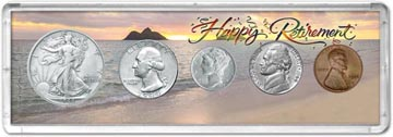1944 Retirement Coin Gift Set THUMBNAIL