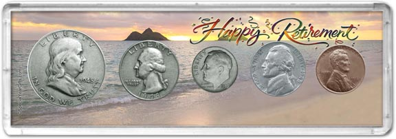 1948 Retirement Coin Gift Set LARGE