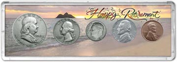 1948 Retirement Coin Gift Set THUMBNAIL