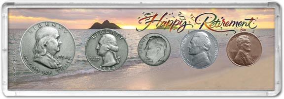 1954 Retirement Coin Gift Set LARGE