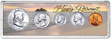 1955 Retirement Coin Gift Set THUMBNAIL