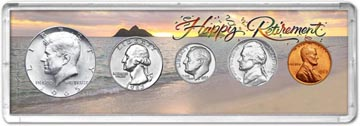 1965 Retirement Coin Gift Set THUMBNAIL
