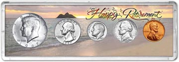 1967 Retirement Coin Gift Set THUMBNAIL