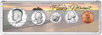 1971 Retirement Coin Gift Set THUMBNAIL