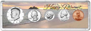 1974 Retirement Coin Gift Set THUMBNAIL