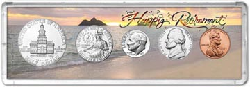 1975 Retirement Coin Gift Set THUMBNAIL