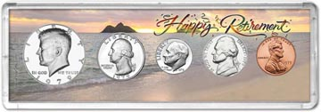 1979 Retirement Coin Gift Set THUMBNAIL