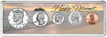 1982 Retirement Coin Gift Set THUMBNAIL