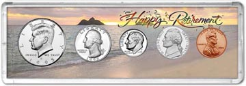 1995 Retirement Coin Gift Set THUMBNAIL
